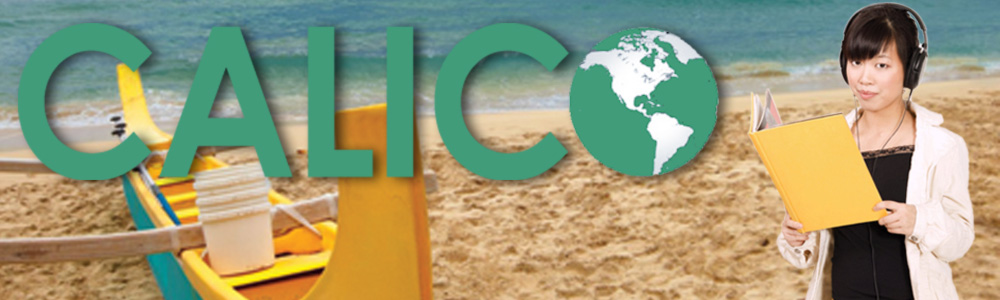 CALICO web heading banner - Honolulu 2013 (1000x300)